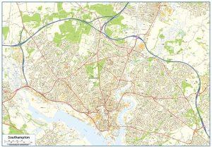 Southampton Street map