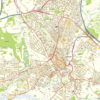 Hertfordshire County & town maps