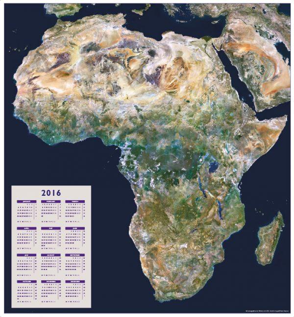Africa satellite calendar 2016