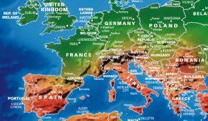 Artistic World Map (large)