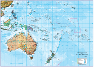 Australasia and Pacific Islands