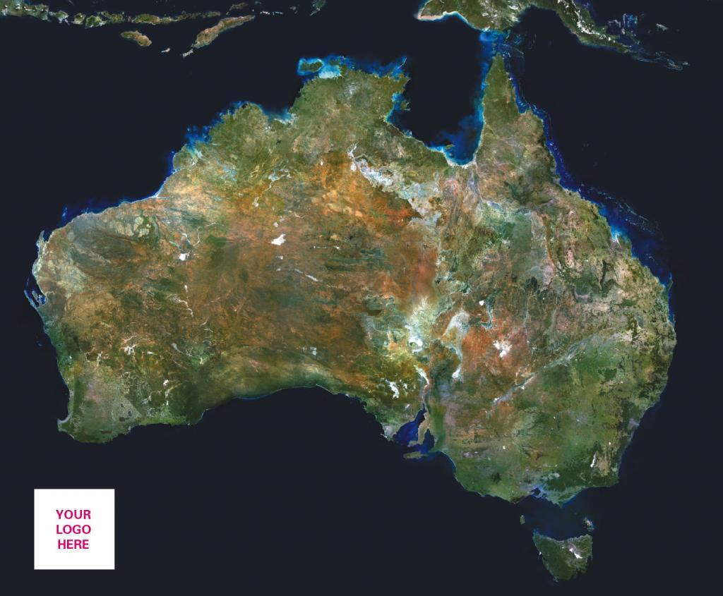 Personalised satellite image of Europe