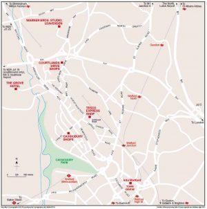 Bespoke maps of Watford and surrounding area