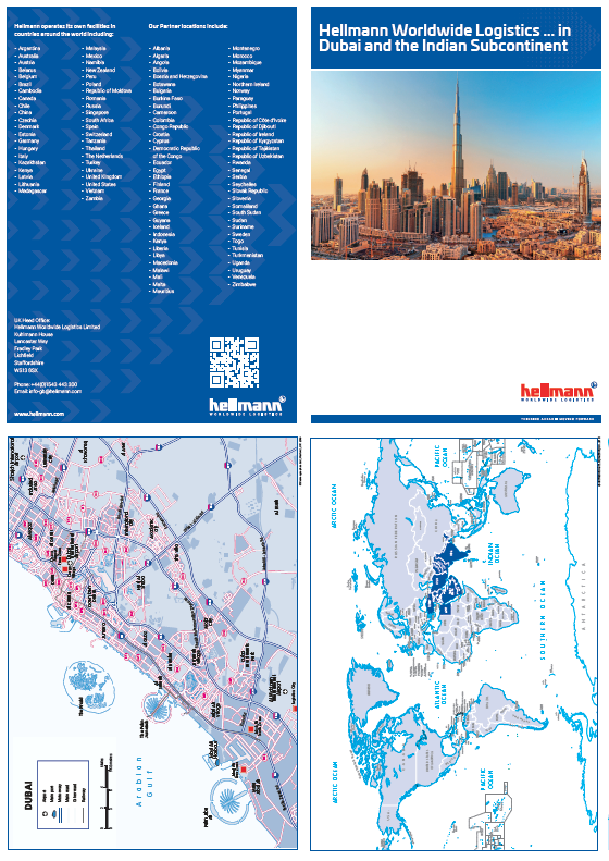 Maps for atlas and diary pages and brochures