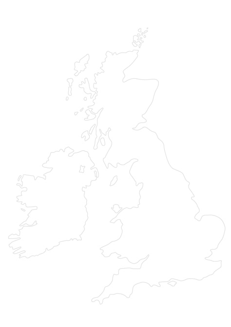 Small British Isles outline
