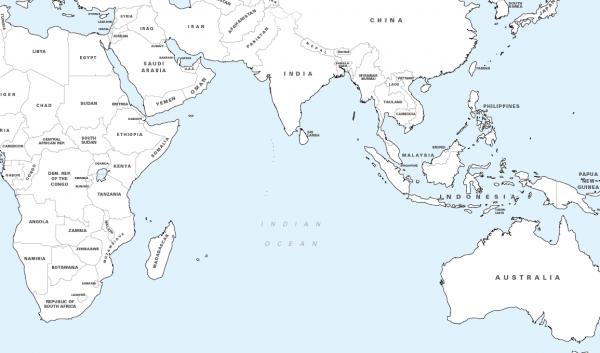 Big world colouring map