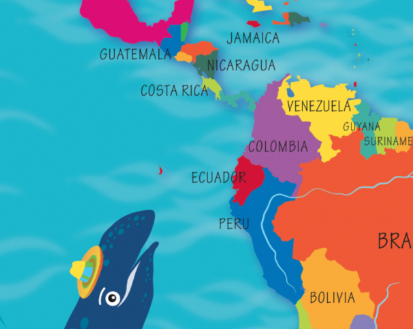 Children's World Landscapes Picture Map