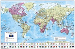 Commonwealth of Nations Map