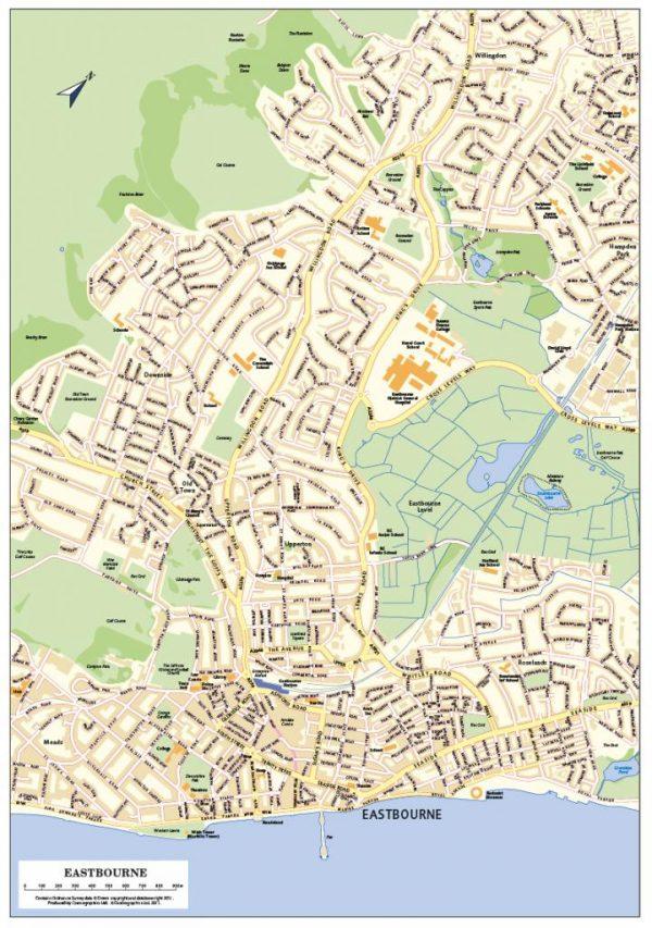 Customised UK town plans