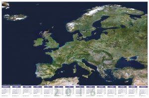 Europe satellite calendar 2016