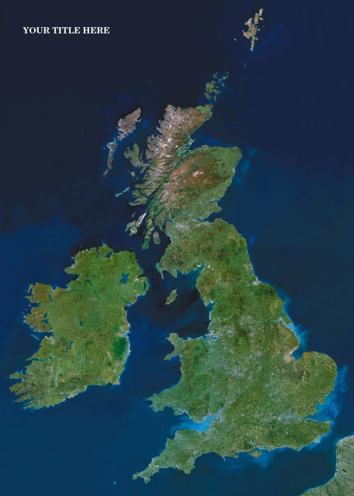 Personalised satellite image of Middle East