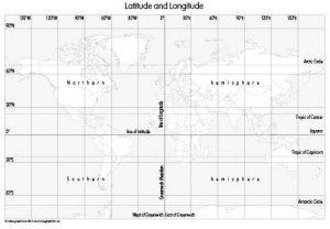 Latitude and Longitude (set of 3)