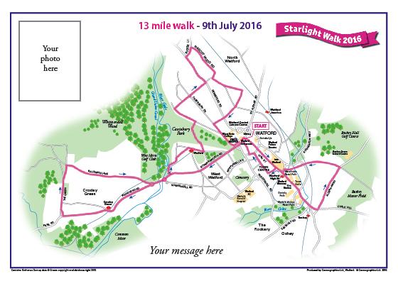 Peace Hospice Care Watford - 13 mile walk