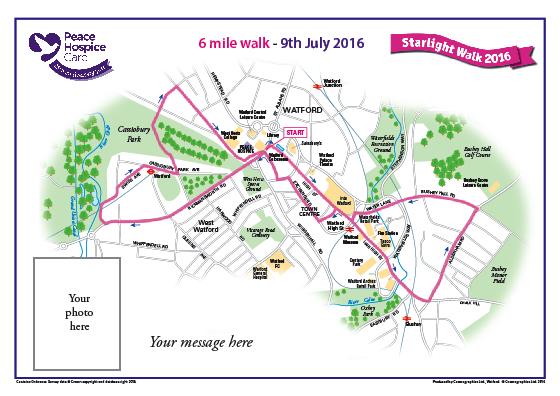 Peace Hospice Care Watford - 6 mile walk