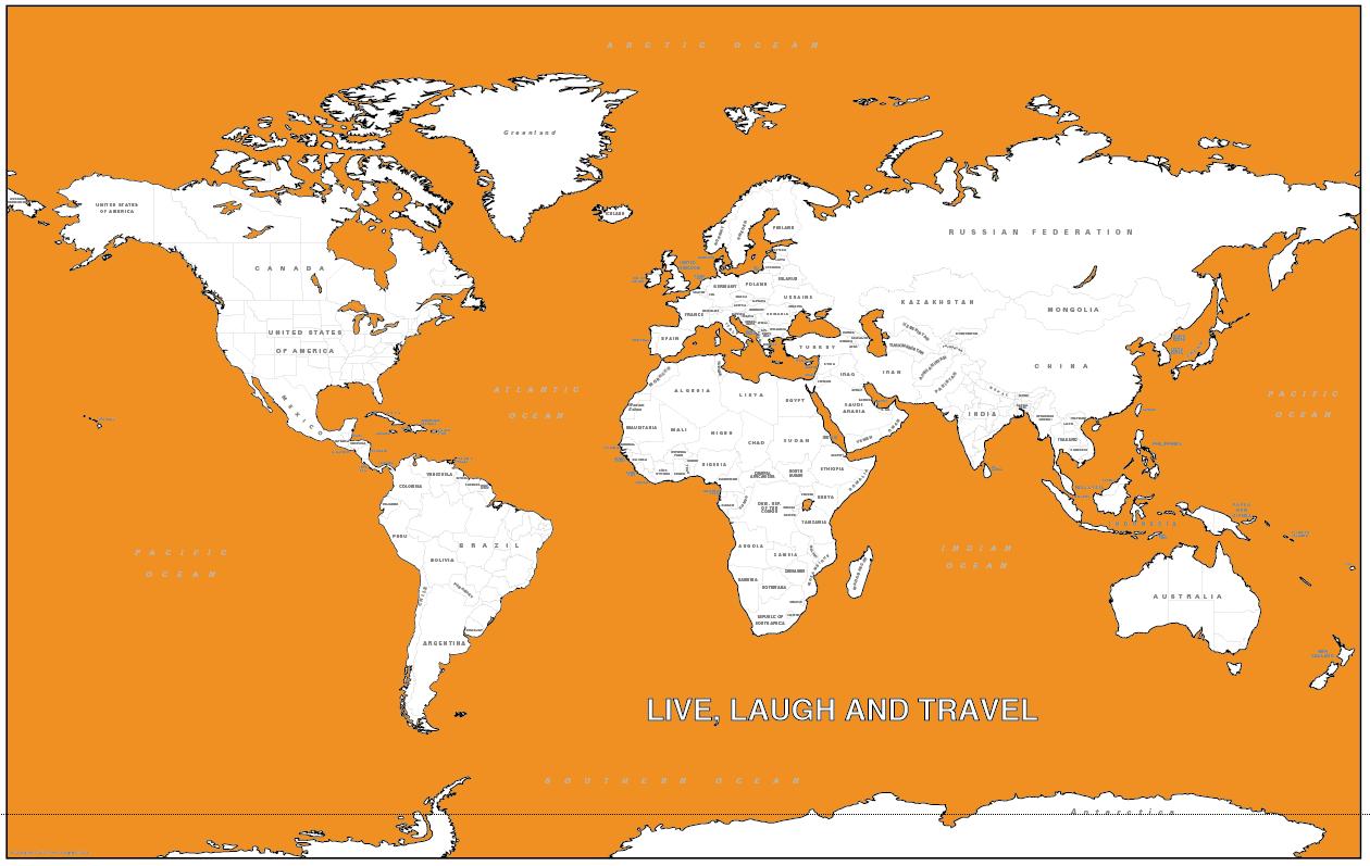 Personalised satellite image of Australia