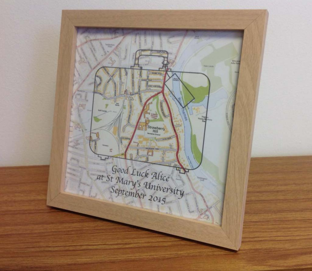 Personalised University/Graduation gift (free delivery)