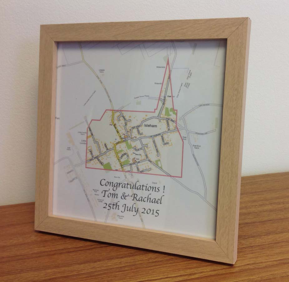 Personalised wedding gift (free delivery)