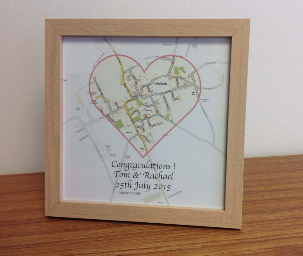 Personalised wedding and honeymoon gift set (free delivery)