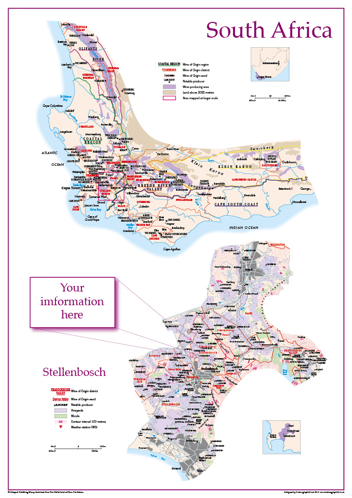 Personalised wine maps
