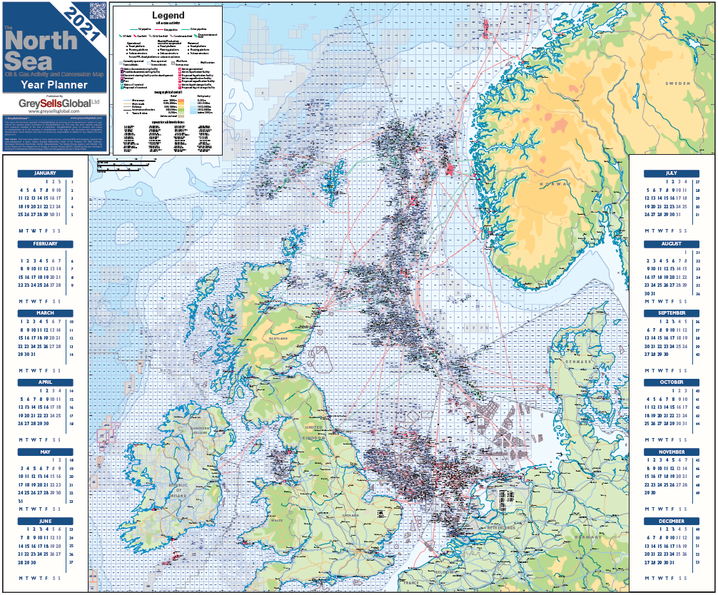 The 2021 North Sea Year Planner