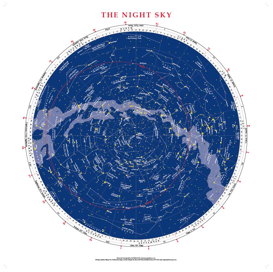 The Night Sky (1m x1m)