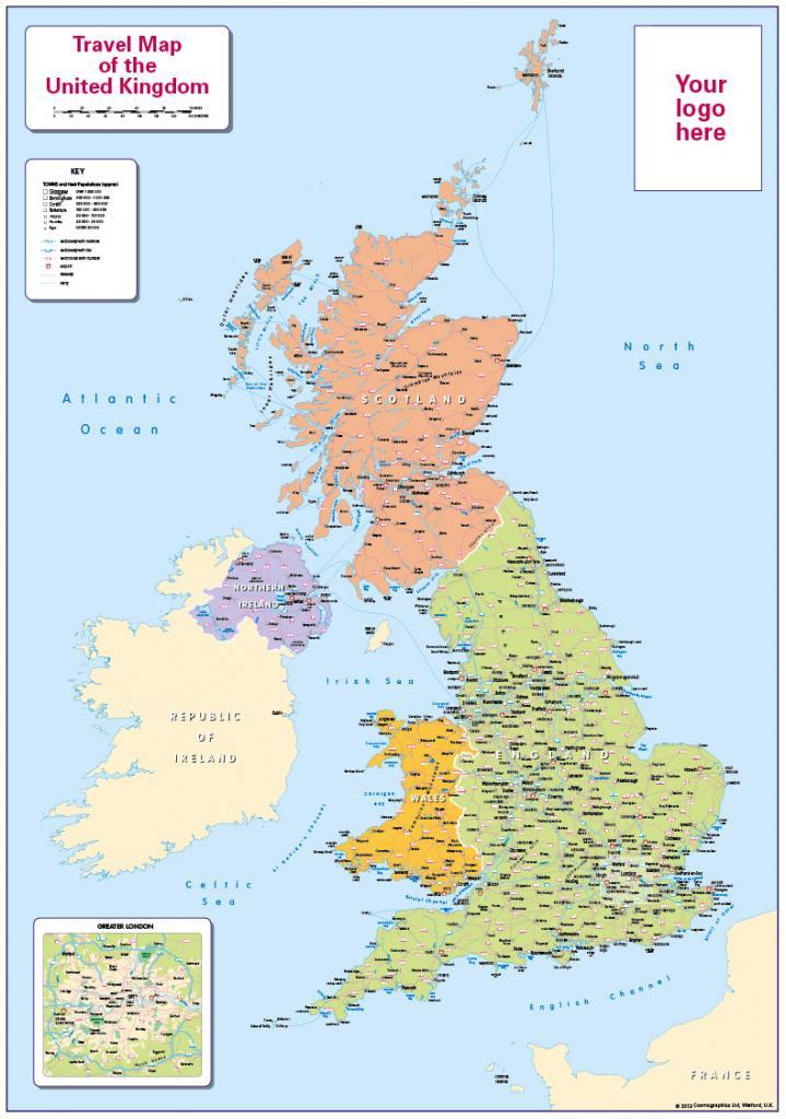 Personalised children's UK Travel Map