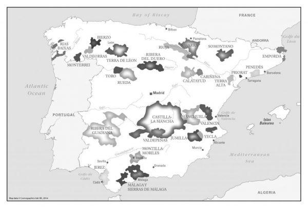 Customised Wine maps