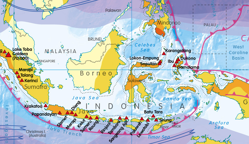 Personalised World Natural Hazards Map