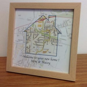 Personalised Framed Map Gifts